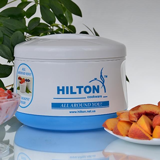 Йогуртница Hilton blue