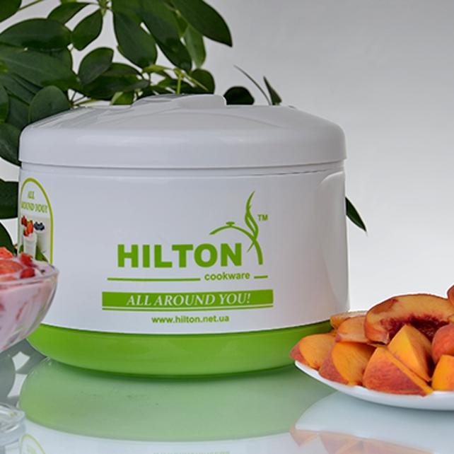 Йогуртница Hilton green