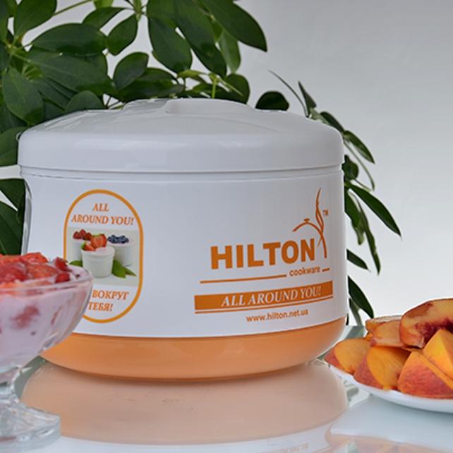 Йогуртниця Hilton orange